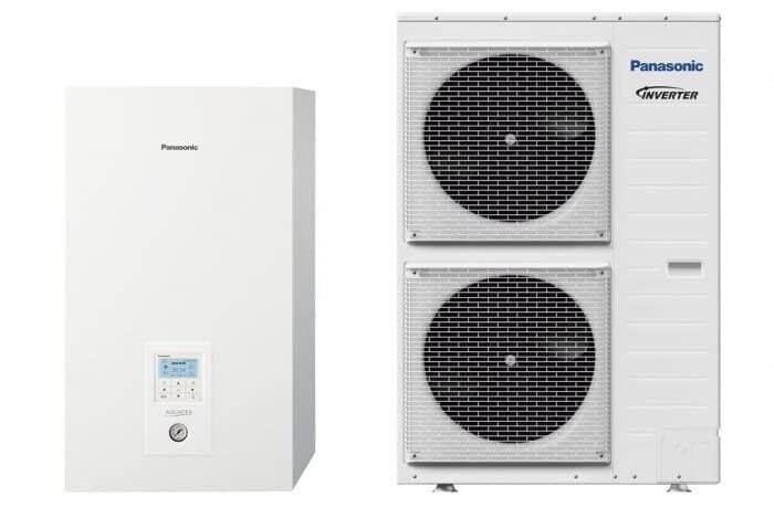 Термопомпа Panasonic Aquarea WH-SXC09H3E5/WH-UX09HE5 T-CAP